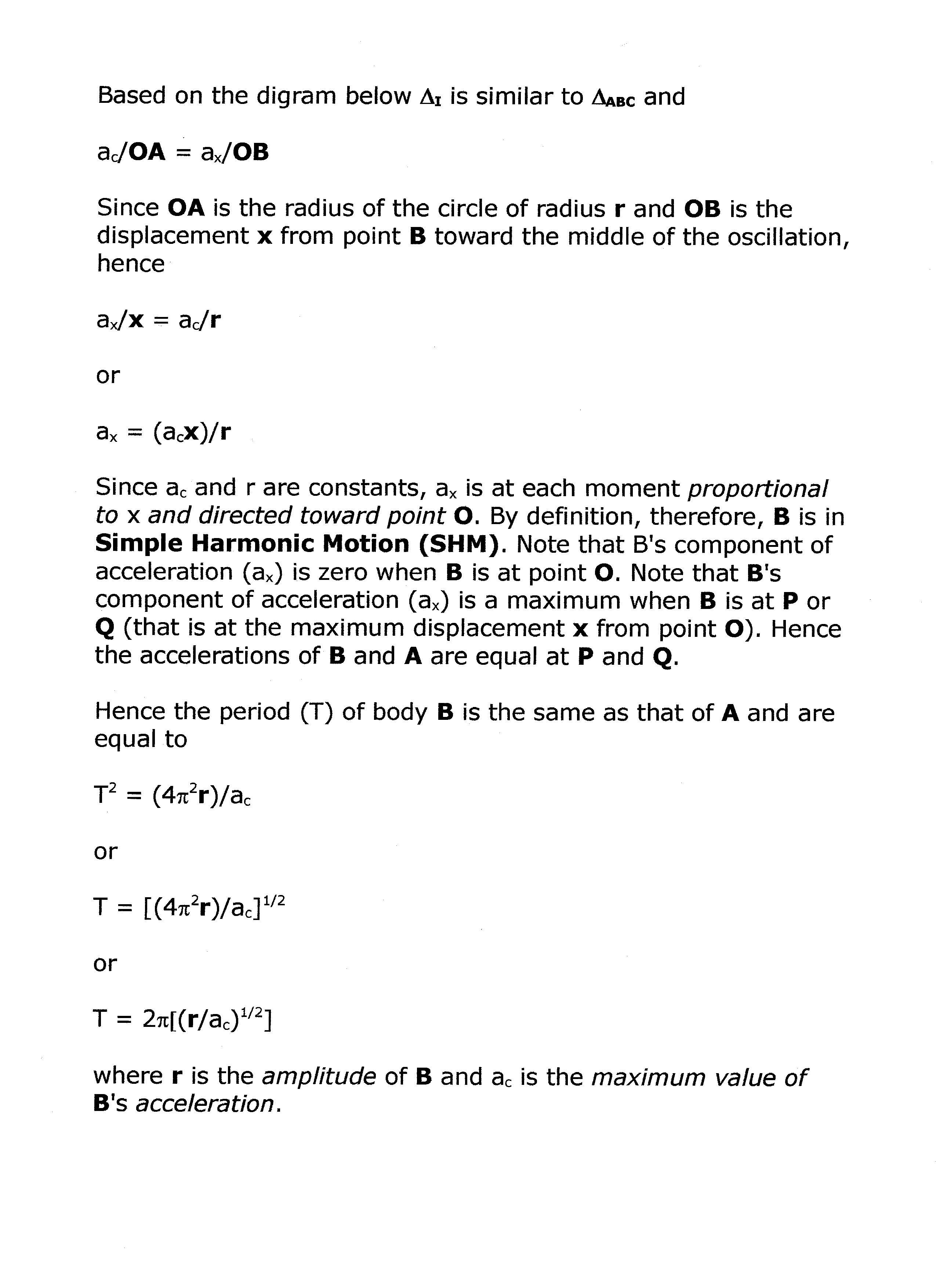 circular motion how to find period